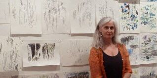 Drawing as Site -Paris  and Giverny - Coffs Harbour Regional Gallery