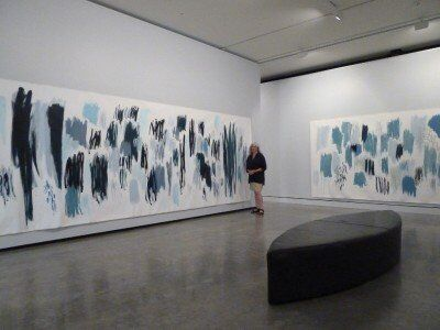 Walking through the space of landscape; Maitland Regional Art Gallery
